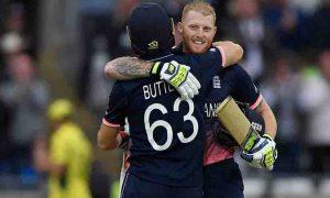 इंग्ल्याण्डले च्याम्पियन्स ट्रफीमा  ४० रनले हरायो